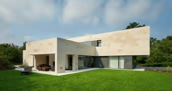 Create House Limestone Home In Spain Creates Seamless Living Space