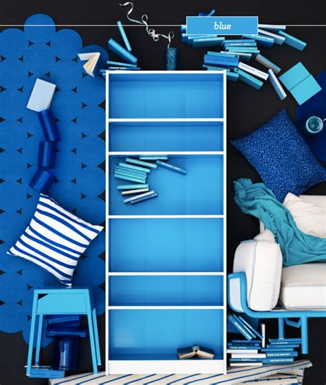 ikea blue billy bookcase limited edition ikea billy bookcases bright bazaar