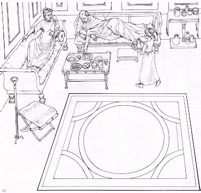Ancient Rome Report Template Ancient Rome Mosaic Coloring Pages Coloring Pages
