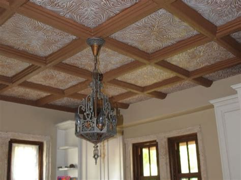 Faux Ceiling Beams Styrofoam by 16 Decorative Ceiling Tiles For Kitchens Kitchen Photo