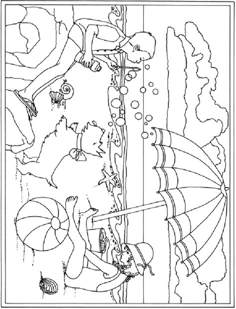 summer holiday coloring pages coloring page summer holiday coloring pages 31
