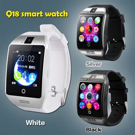 Smart Q18 New by Smart Watches Model Q18 Smart Black