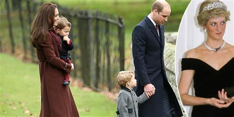 Celebrity News Kate And William At Princess Diana S | kate middleton and prince william take george and