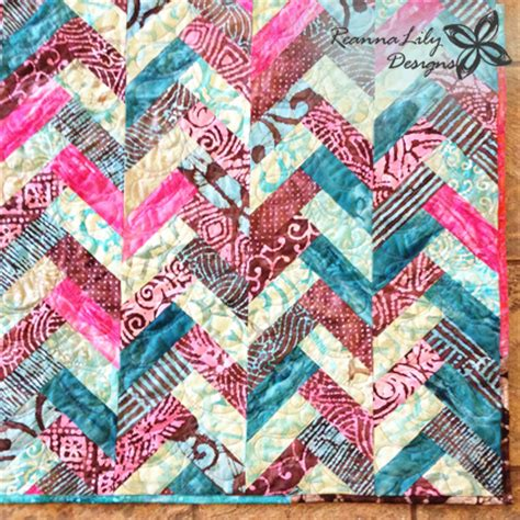 Sesha Batik Shirt Point One batik braid quilt tutorial by jen eskridge reannalily design