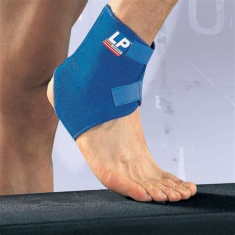Lp Support Adjustable Ankle Uk M Lp 768 200000272 lp neoprene adjustable ankle support sports supports mobility healthcare products