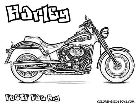 Harley Coloring   Harley Davidson   Free   Motorcycles