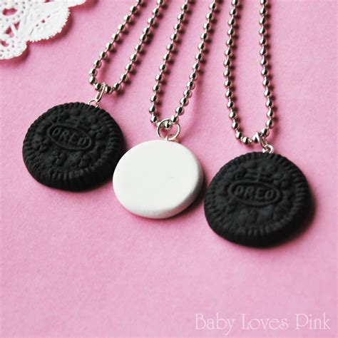 oreo best friends necklace set of 3 r2f4