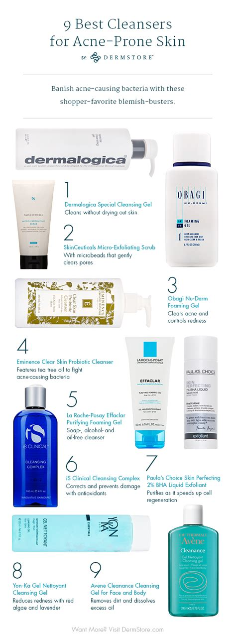 best acne cleansers 9 best acne cleansers according to dermatologists