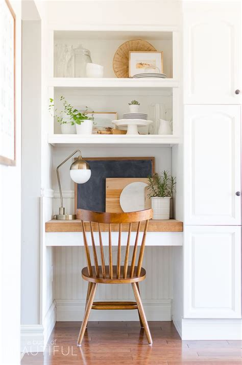 kitchen desks built in best 25 built in desk ideas on home office
