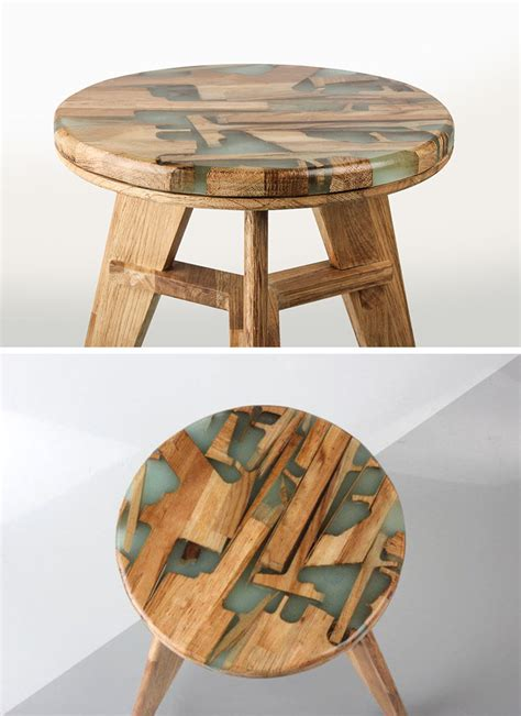 Stool Hardener by These Designers Made A Stool Using Offcuts Of Wood And