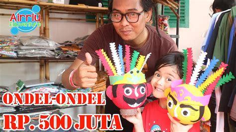 Kaos Betawi Ondel Ondel ondel ondel termahal yang di tawar airriu di jakarta fair