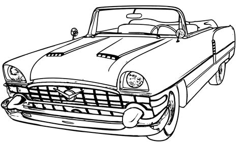 coloring pages of classic cars lowrider coloring pages coloring home