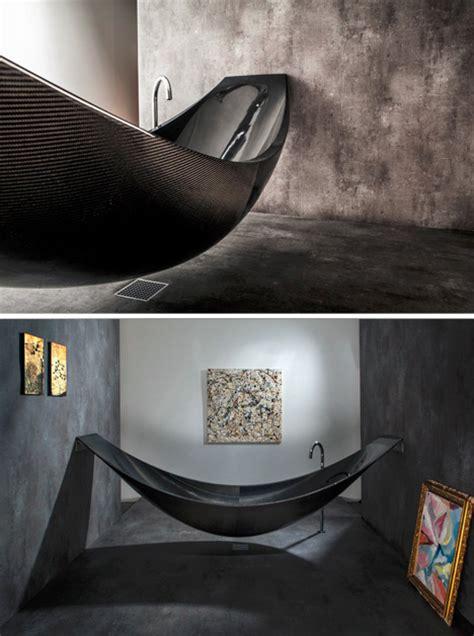 hammock bathtub suspend your disbelief and take a bath