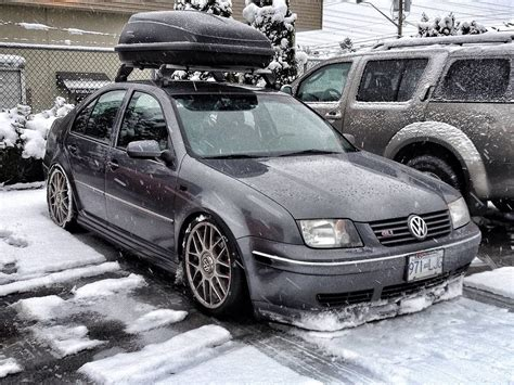 volkswagen gli slammed slammed mk4 jetta gli snowplow cars jetta