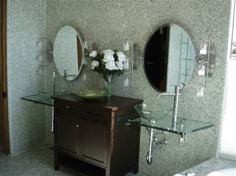 Glass Countertops Bathroom by Bathroom Countertop Ideas And Tips Ultimate Home Ideas