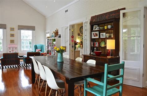 houzz eclectic style  color rule  eclectic
