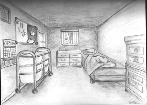 one point perspective bed room 20 one point perspective