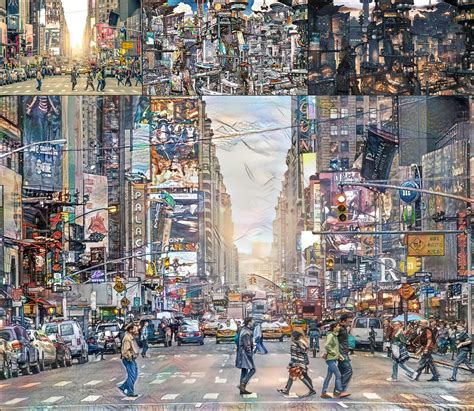 Anime Nyc by Anime Nyc Styles Deepdream