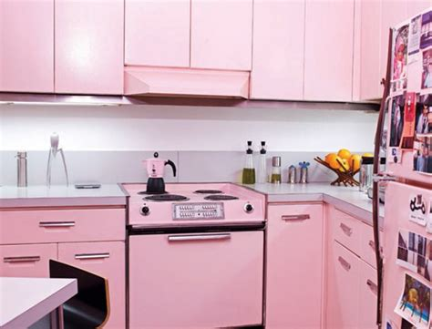 Pink Countertops Kitchen by Pink Kitchen Decorating Ideas In Style