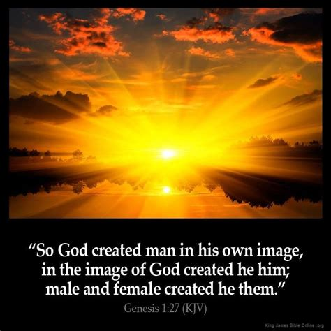 genesis 1 26 27 meaning genesis 1 27 quot so god created in his own image in the