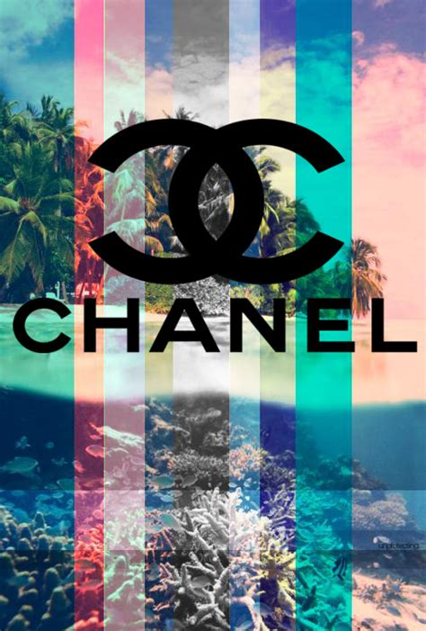 wallpaper for iphone chanel tumblr chanel logo tumblr