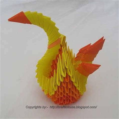 Japanese Origami Swan - 17 best images about craft craftlicious on