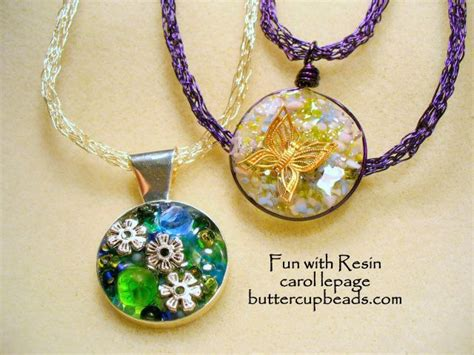 Handmade Jewellery Techniques - 107 best images about beautiful resin stuff on