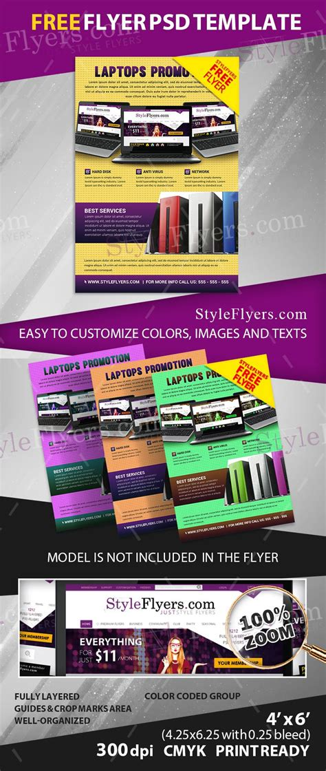Free Promo Flyer Psd Flyer Template Free Download 11201 Styleflyers Free Caign Flyer Template