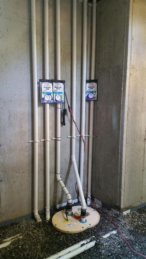 Basement Waterproofing Triplesafe Sump Pump In Greenwich