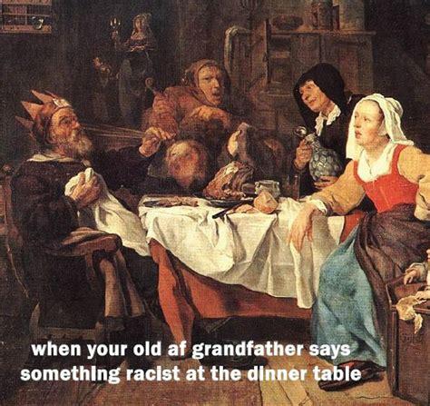 Old Painting Meme - repurposing classical art into memes the aquinian