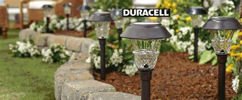 10 lumen solar lights qvc duracell 8 10 lumen solar landscape light set
