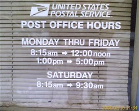 Usps Office Hour by February 171 2008 171 Rantfarm
