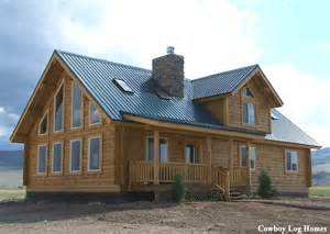 How Much Does It Cost To Build A House In Montana by Milled Log Homes Cowboy Log Homes