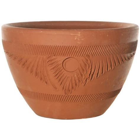 Shop 12 519 In X 7 519 In Terra Cotta Clay Rustic Planter Terra Cotta Planter
