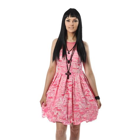 Kalista Pink pink kalista dress from poizen industries skirts dresses clothing clothing
