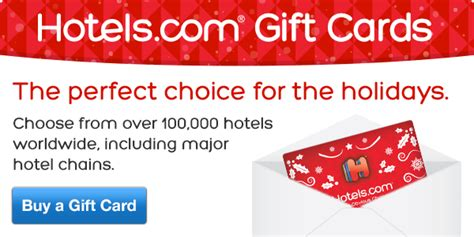 Choice Hotel Gift Card - hotels com this holiday give a hotels com gift card milled