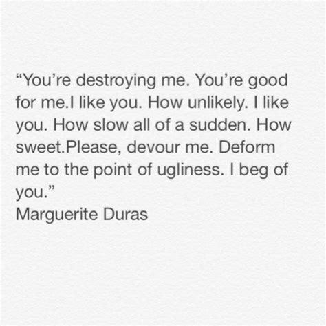 Marguerite Duras The Lover Quotes marguerite duras quotes quotesgram