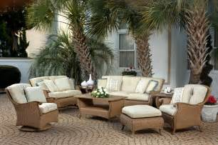 pcs outdoor patio furniture set wicker