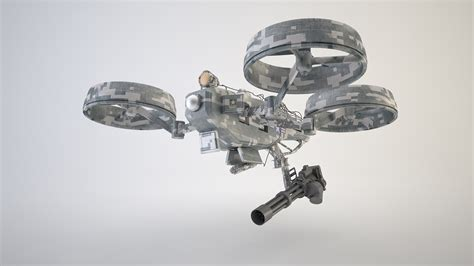 model drone with quadrocopter drone 3d model rigged 3ds cgtrader