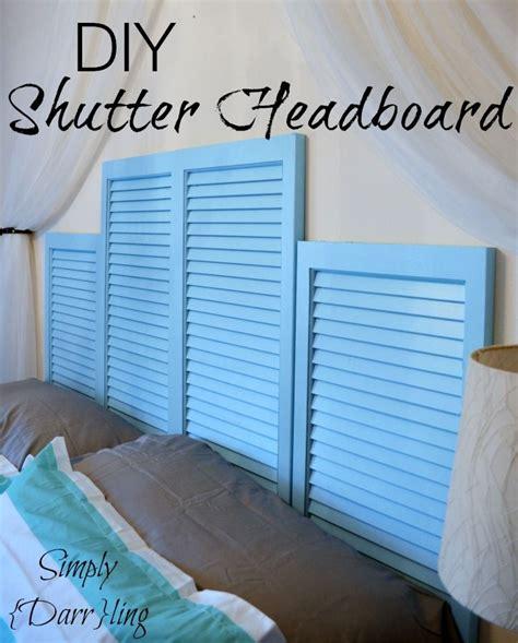 diy shutter headboard diy shutter headboard shutter headboards shutters and