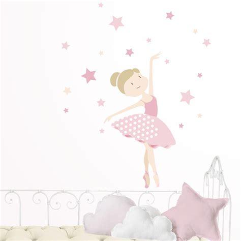 decoracion habitacion bebe bailarina vinilo infantil bailarina de ballet habitaciones