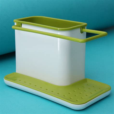 Kitchen Caddy Sink Organizer Plastic Racks Organizer Cabinet Kitchen Sink Caddy Storage Space Saver Ebay