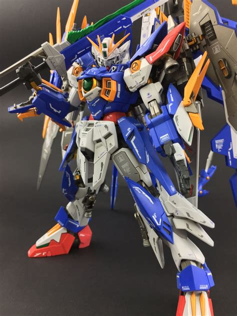 gundam wing gundam mg 1 100 amazing wing gundam zero custom build