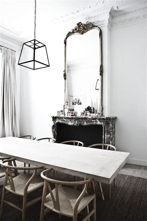 mirror dining room table best 25 fireplace mirror ideas on pinterest fire place
