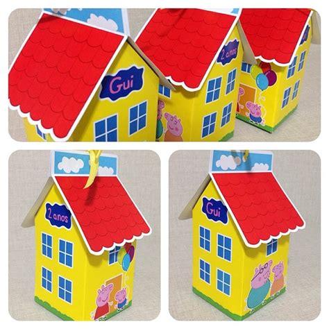 casa pepa pig arte casinha peppa pig luiza colzani elo7