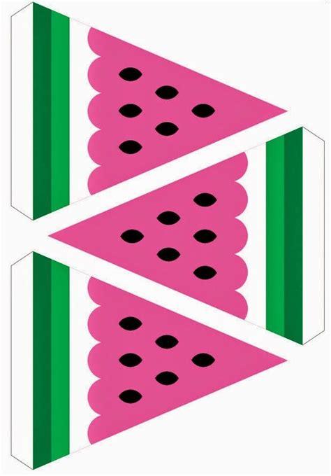 printable watermelon banner watermelon party free printable kit kids party