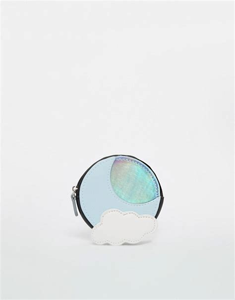Hologram Coin Purse asos asos cloud holographic moon coin purse
