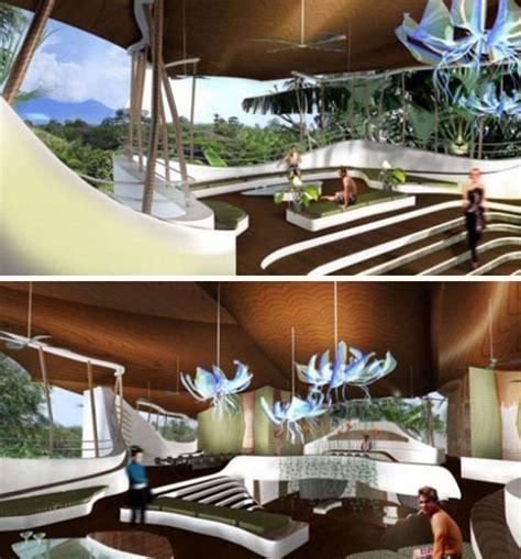 futuristic home design concepts green luxury futuristic off the grid forest home design