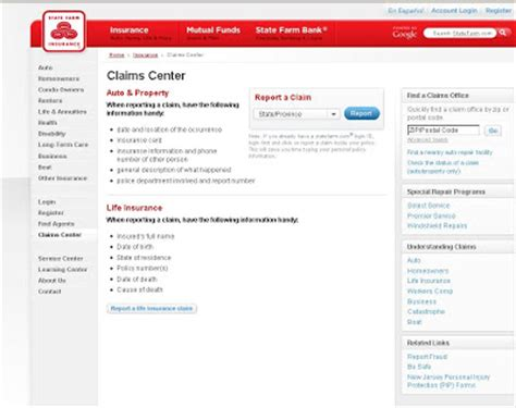 guide  claim state farm insurance