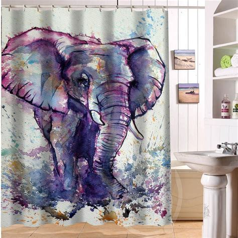 Elephant Bathroom Decor by The 25 Best Elephant Shower Curtains Ideas On